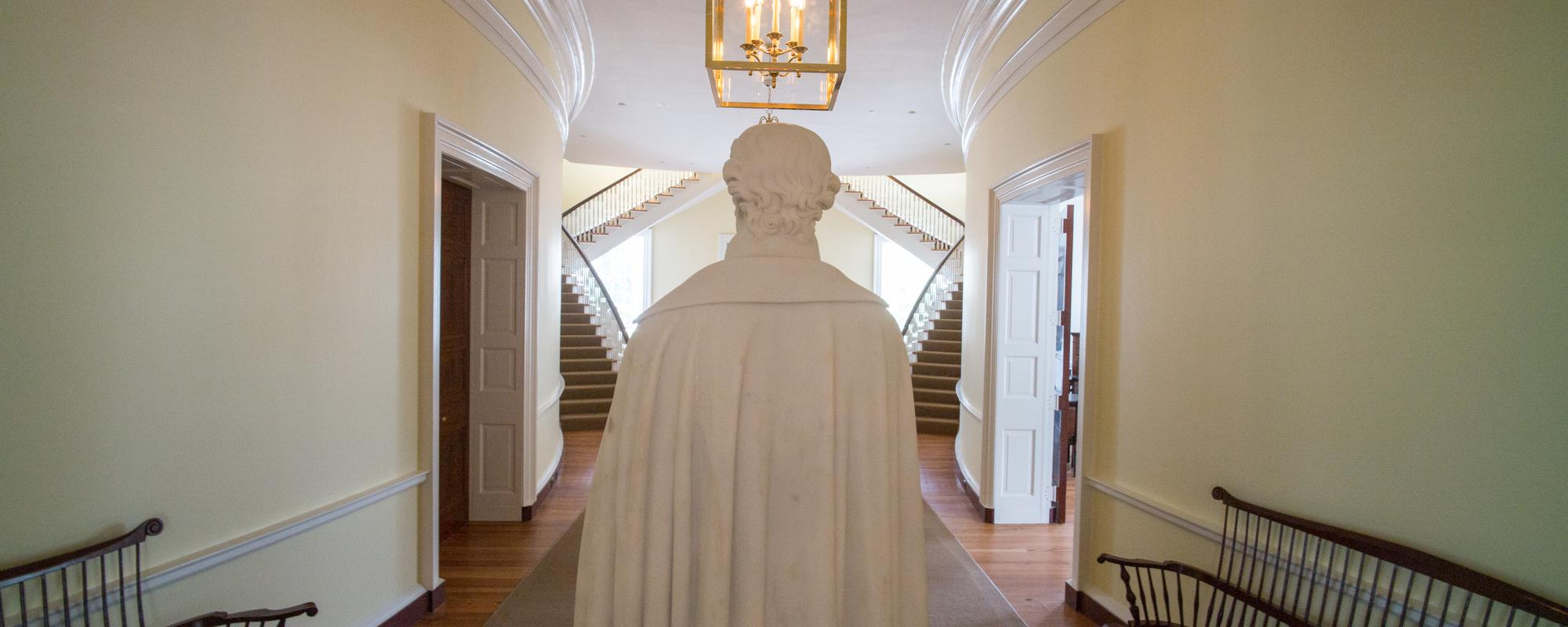 UVA Statue of Thomas Jefferson